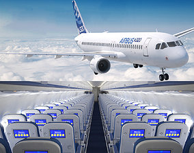3D Airbus A 320neo