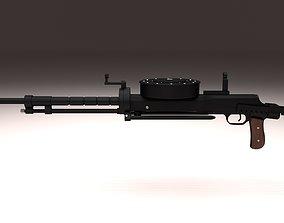 3D model gun Degtyaryov DT Machine Gun