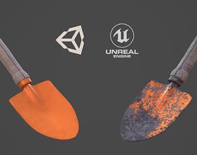 3D model Garden Hand Shovel
