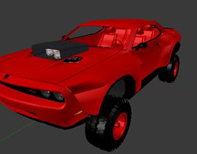 2012 4X4 Widebody Offroad Dodge Challenger SRT8 3D model