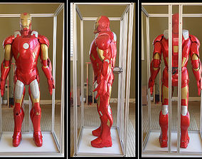 3D printable model Iron Man MK7 IGES