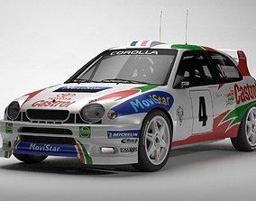 Toyota Corolla WRC 3D model