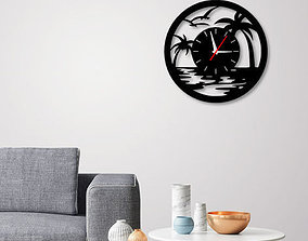 Decorative Wall Clock C3 3D printable model