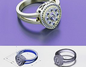 Rings piece 3D print model