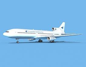 Lockheed L-1011 Garuda Indonesia 3D model