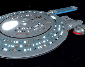 STAR TREK - CARINA CLASS STARSHIP 3D model