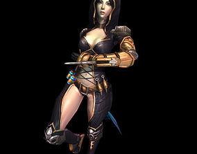 3D model Sia - The Huntress