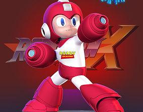 3D print model boy Megaman vs Covid - 19