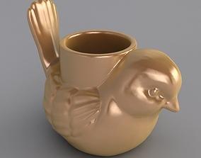 3D printable model Little Bird Candle Holder