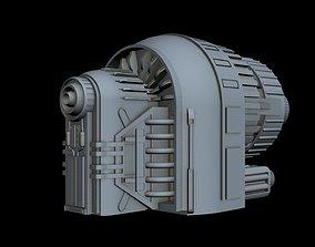 3D Starship Detail 7