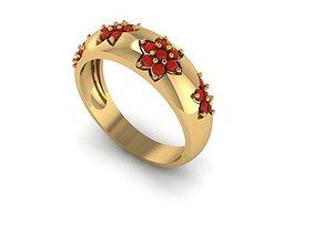 3D print model ring wedding rings jewelry