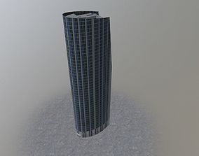 London Athena Tower 3D asset