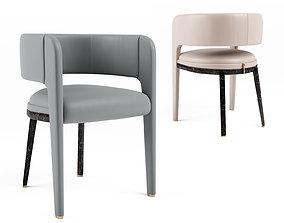 3D model Turri ECLIPSE Easy Chair