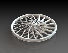 Road Wheel 3D Printed