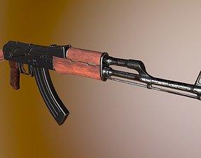 warfare 3D model ak-74