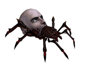 animated 3Dfoin - Terror Spider
