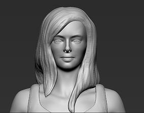 3D model Fashionable girl
