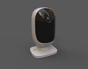 Security camera industrial or household 3D model