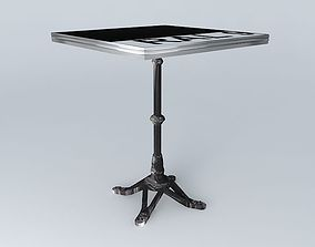 3D BISTRO TABLE SQUARE ARDAMEZ Company tabary