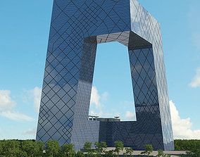 3D model CCTV Headquarters