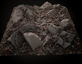 Debris Piles Gameready 3D model