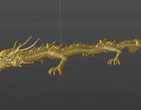 Dragon 3D model animals