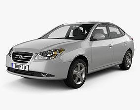 3D Hyundai Elantra HD 2007