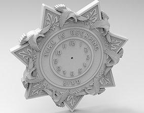 star clock 3D printable model