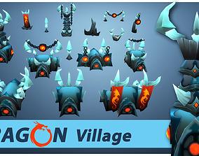 Dragon RTS Buildings 3D model