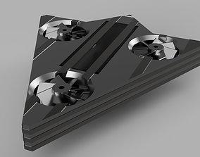 3D printable model Tricopter