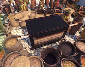 3D model High Quality Historical Props PBR