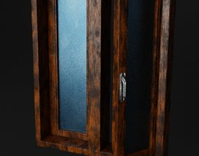 Wooden Window Variation1 3D model