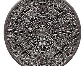 3D printable model Aztec Calendar