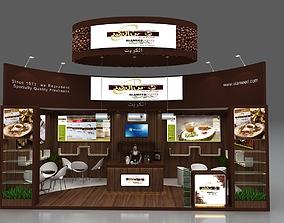 Exhibition stand design 3D
