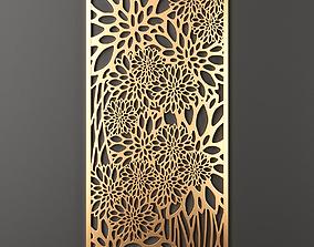 3D model Decorative panel 174