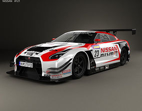 Nissan GT-R Nismo GT300 2015 3D model