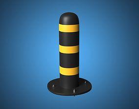 3D model Bollard Barrier