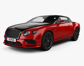 Bentley Continental GT Supersports Convertible 3D model