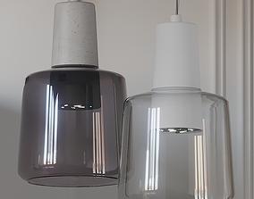 3D model Samson LED Mini Pendant Light By Kuzco Lighting