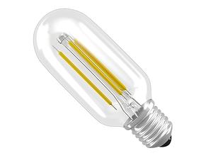 3D filament led light bulb