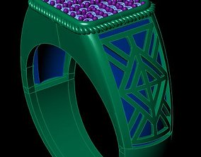 Ring - Man ring 3D print model
