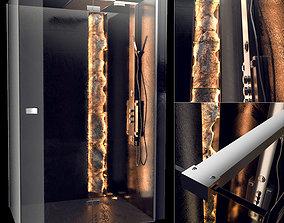 3D model LIBRA shower cubicle 1200x800x2000