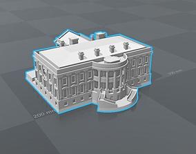 3D printable model White house