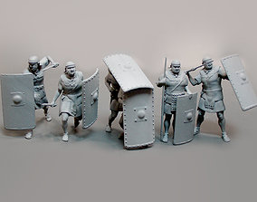 3D printable model Roman legionnaires 6 figures