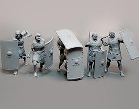 3D printable model Roman legionnaires 6 figures
