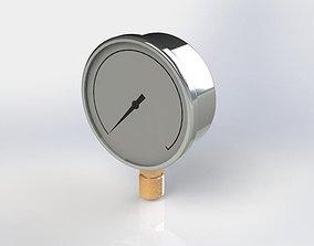 industrial 3D Pressure Gauge