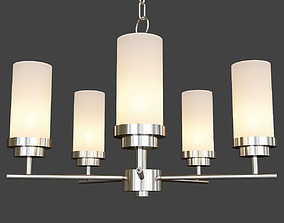 3D model Maxim Lighting 10205ftsn Corona 5 Light 1