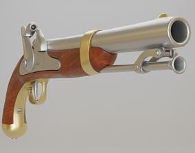 US Model 1842 Percussion - PBR 3D asset