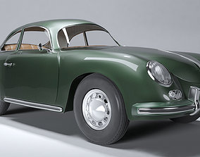 Porsche 356 A 3D asset