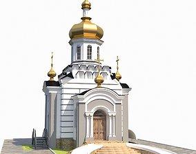 3D model Orthodox church